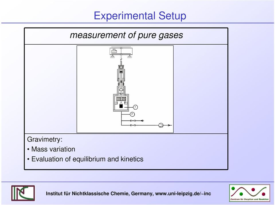 gases Gravmetry: Mass