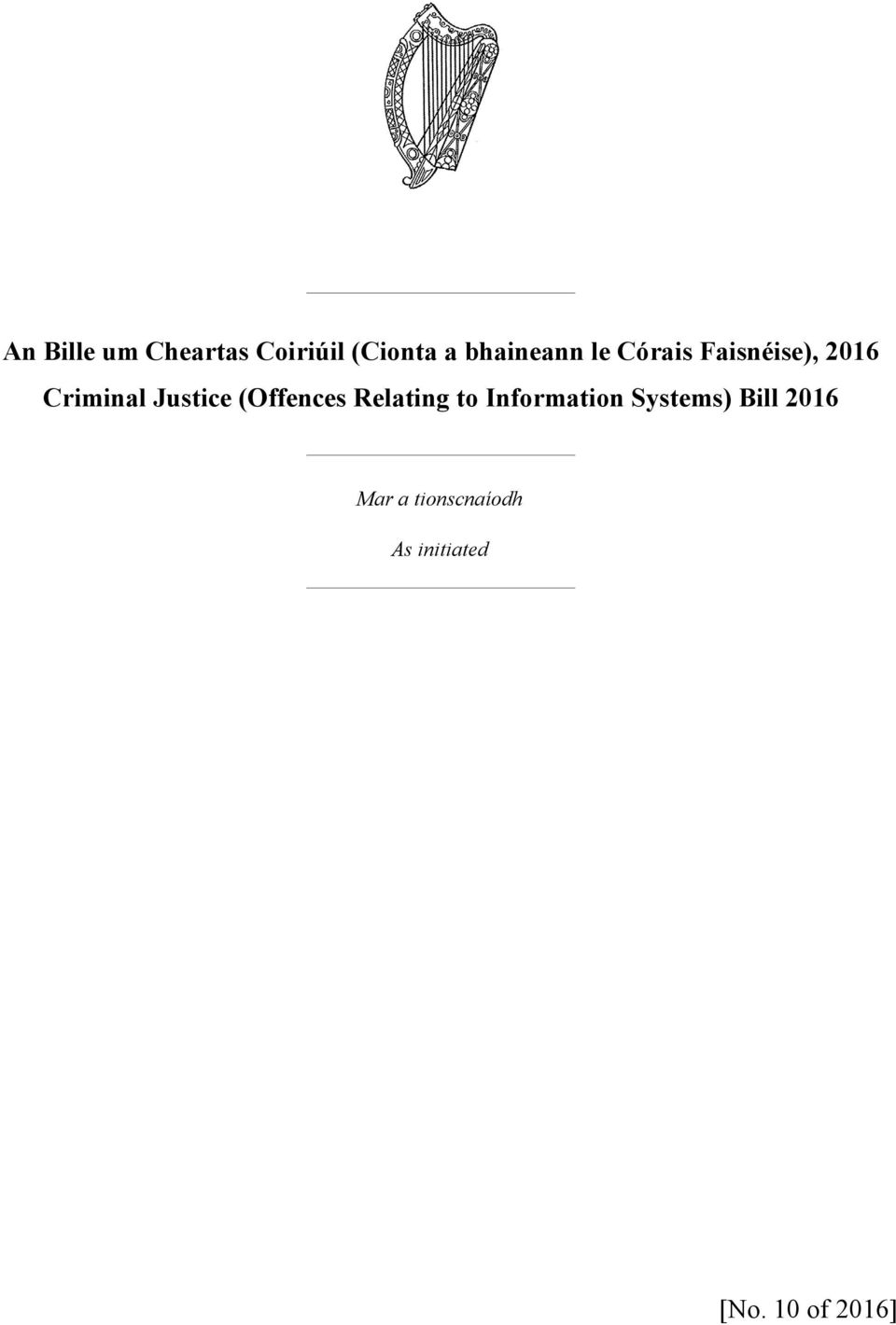 Justice (Offences Relating to Information