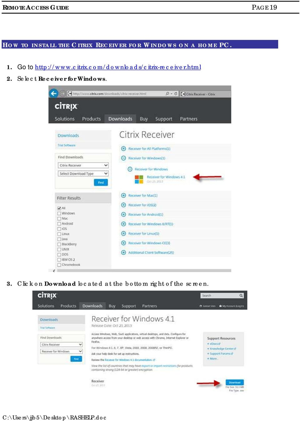 com/downloads/citrix-receiver.html 2.