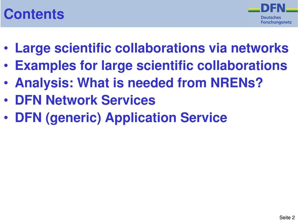 collaborations Analysis: What is needed from