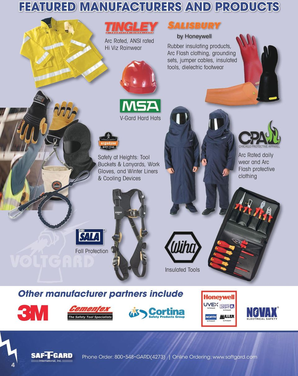 protective clothing Safety at Heights: Tool Buckets & Lanyards, Work Gloves, and Winter Liners & Cooling Devices Fall
