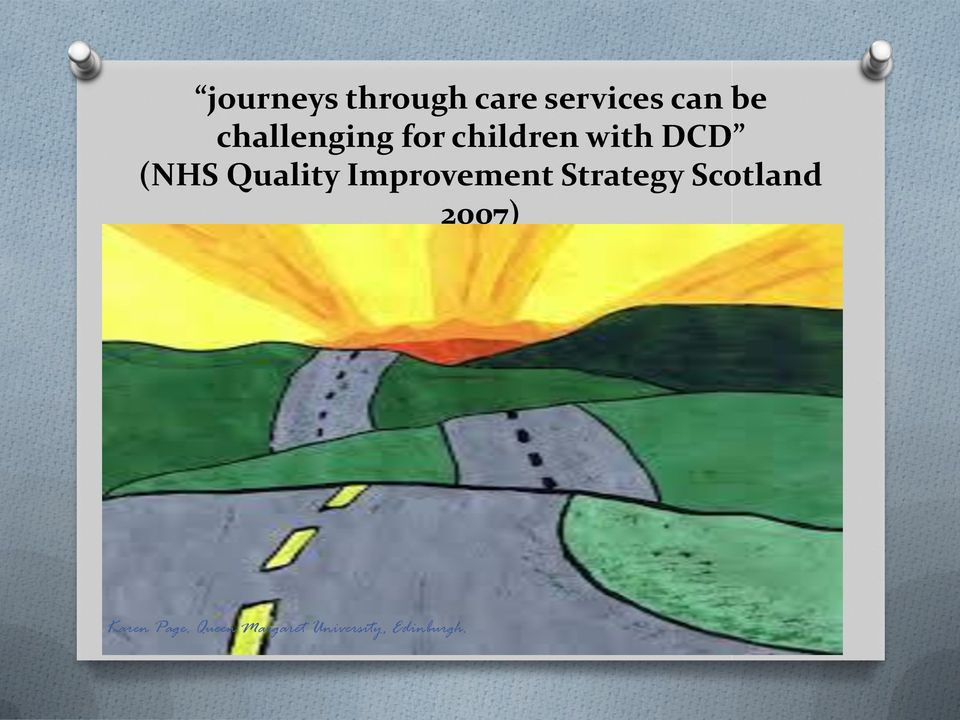 for children with DCD (NHS