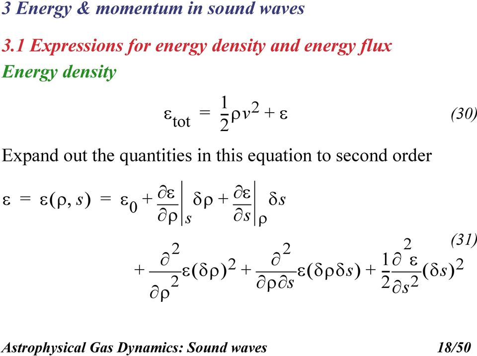 1 tot --v Expand out the quantities in this equation to second