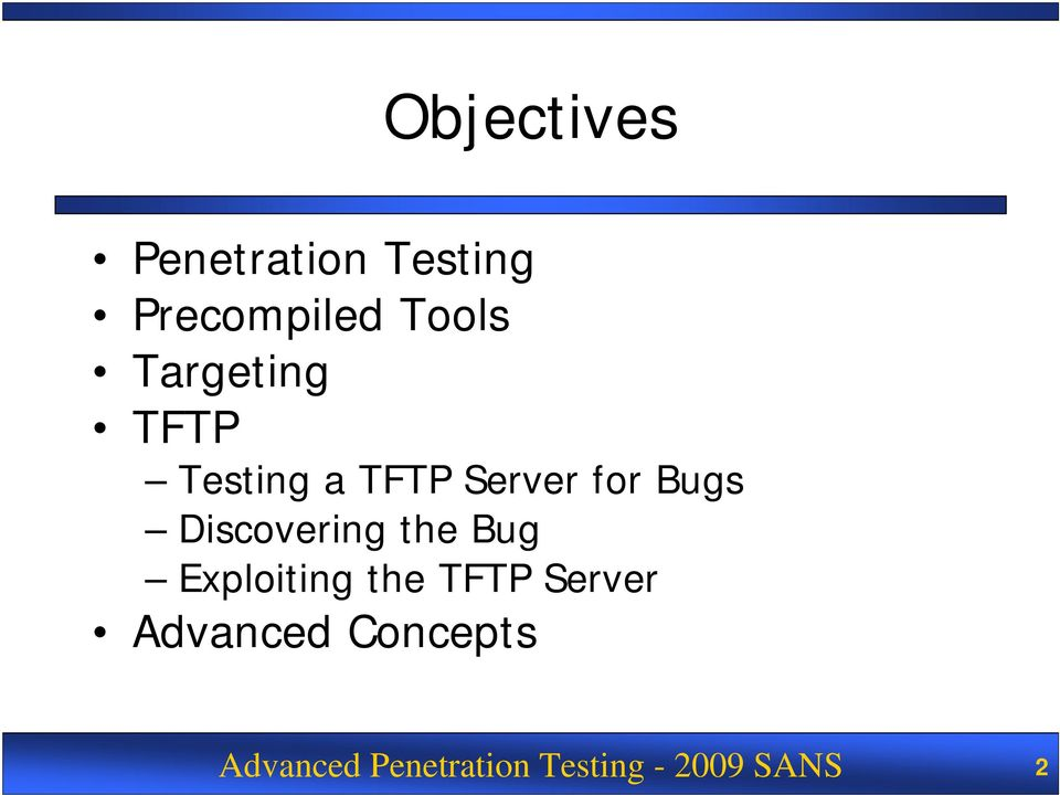 Discovering the Bug Exploiting the TFTP Server
