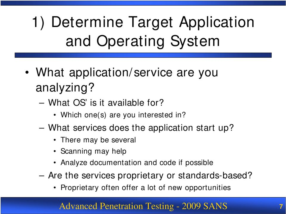 What services does the application start up?