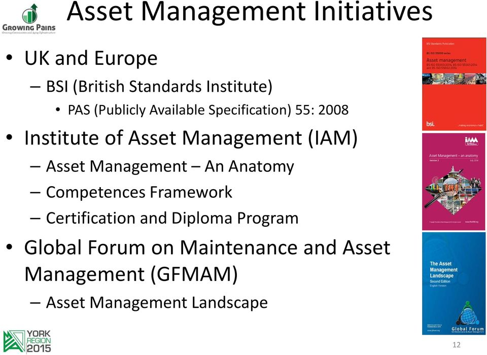 Asset Management An Anatomy Competences Framework Certification and Diploma