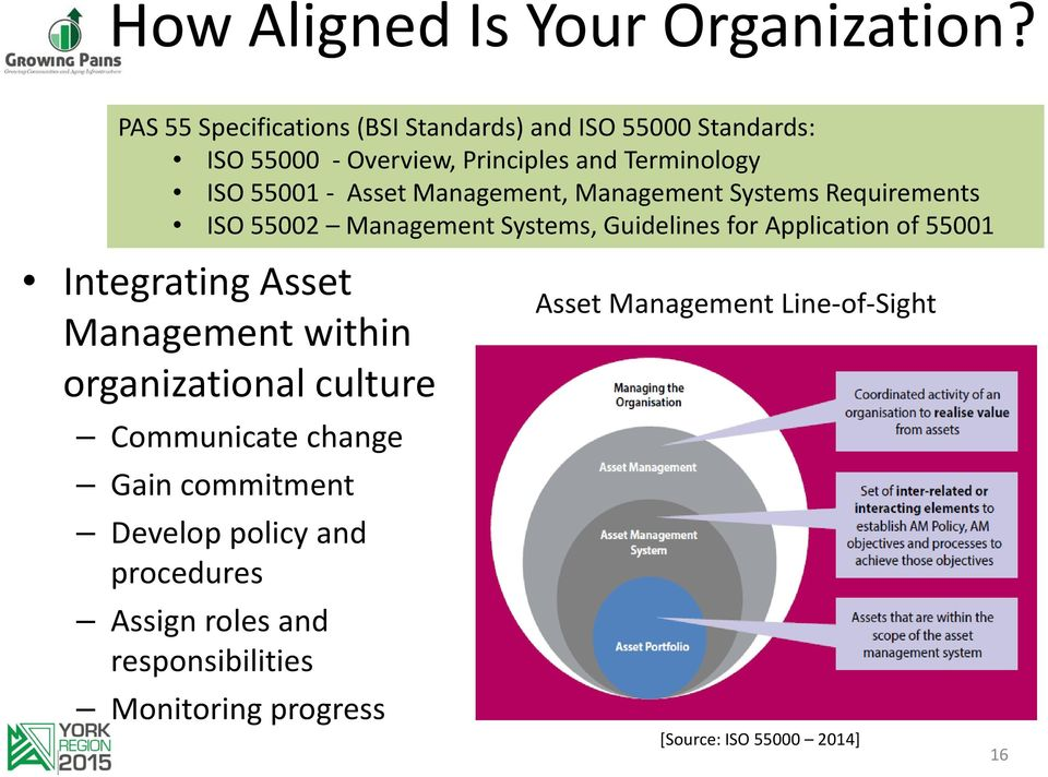 Asset Management, Management Systems Requirements ISO 55002 Management Systems, Guidelines for Application of 55001 Integrating