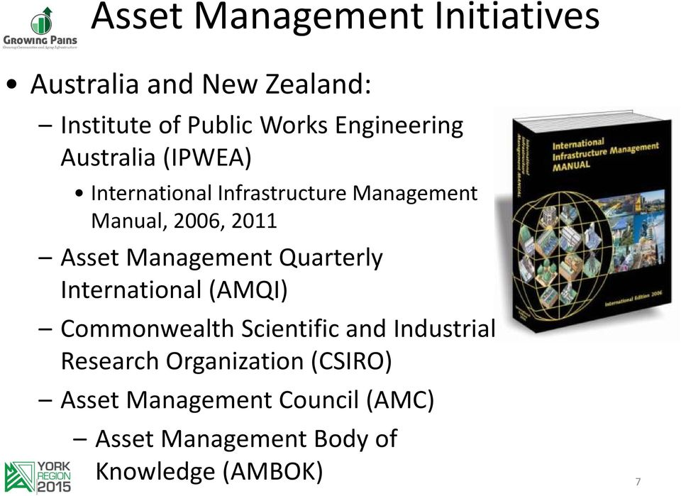 Asset Management Quarterly International (AMQI) Commonwealth Scientific and Industrial