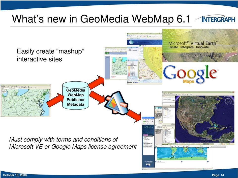 WebMap Publisher Metadata Must comply with