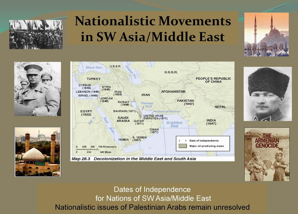 for Nations of SW Asia/Middle East