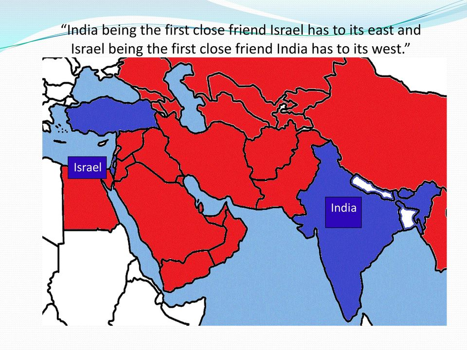 Israel being the first close