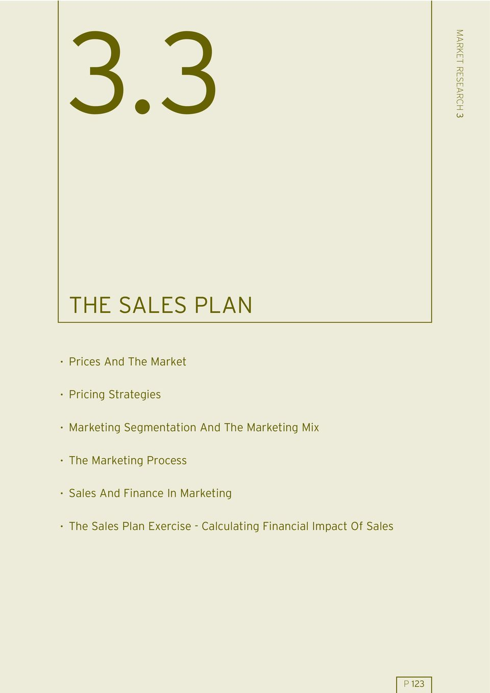 Mix The Marketing Process Sales And Finance In Marketing The