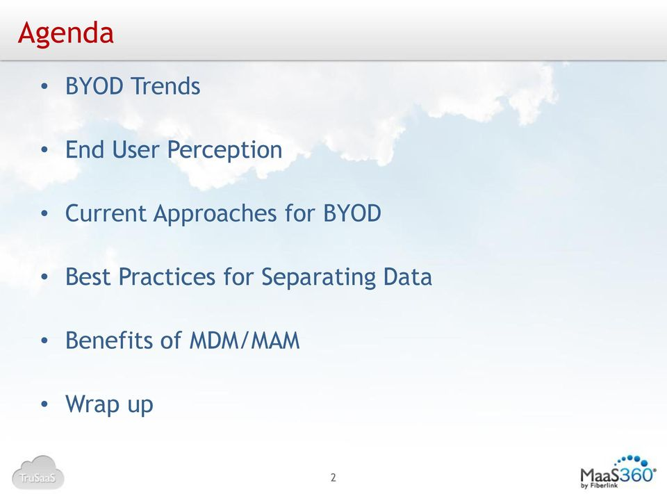 for BYOD Best Practices for