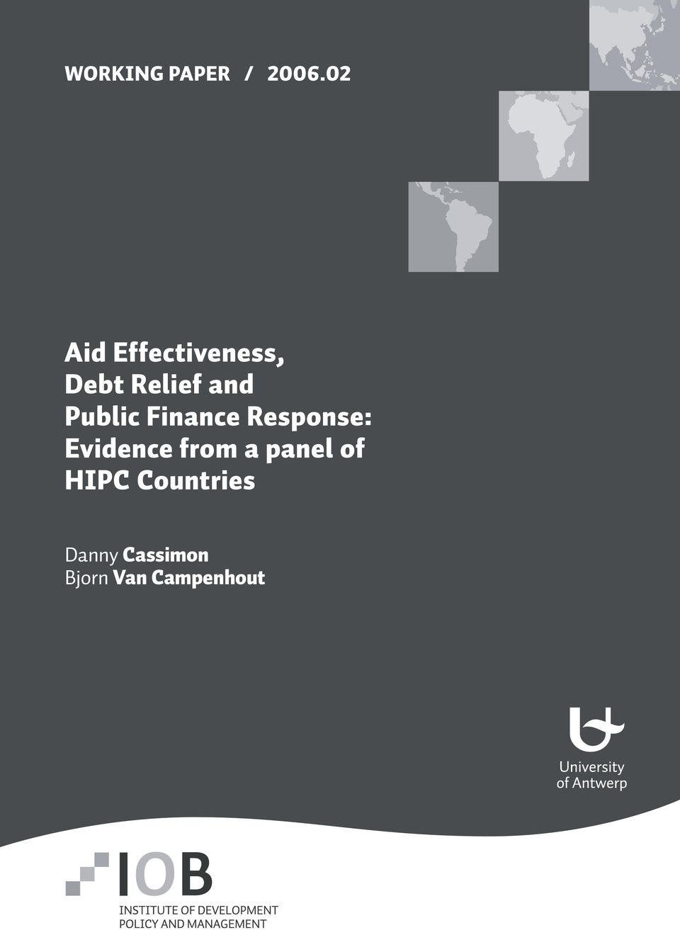 Public Finance Response: Evidence from