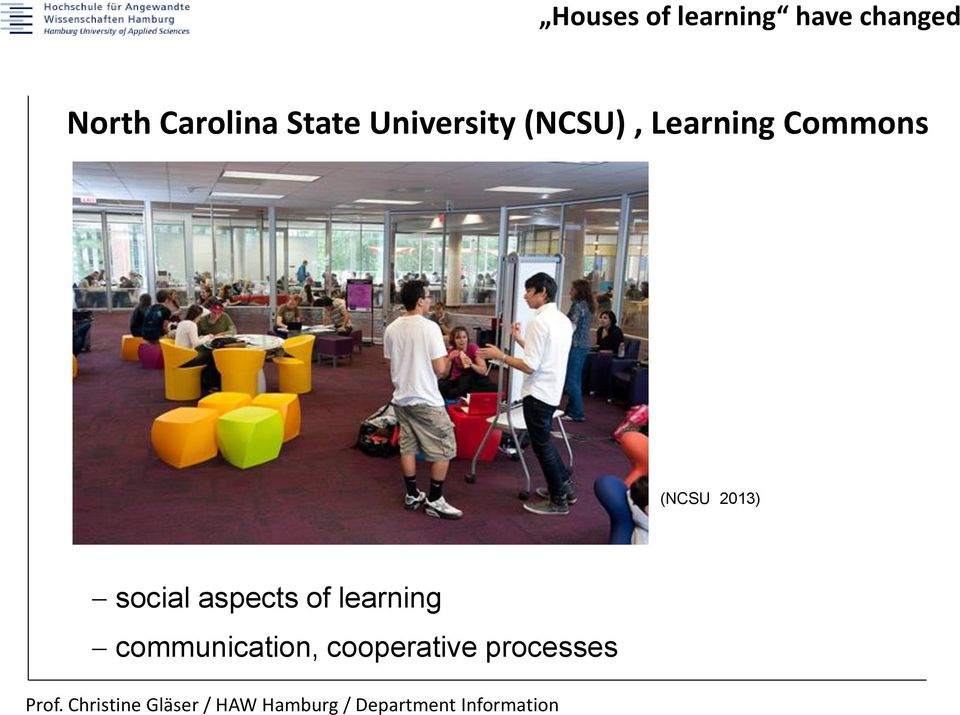 Learning Commons (NCSU 2013) social