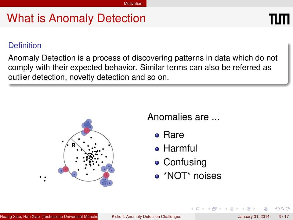 Similar terms can also be referred as outlier detection, novelty detection and so on. Anomalies are.