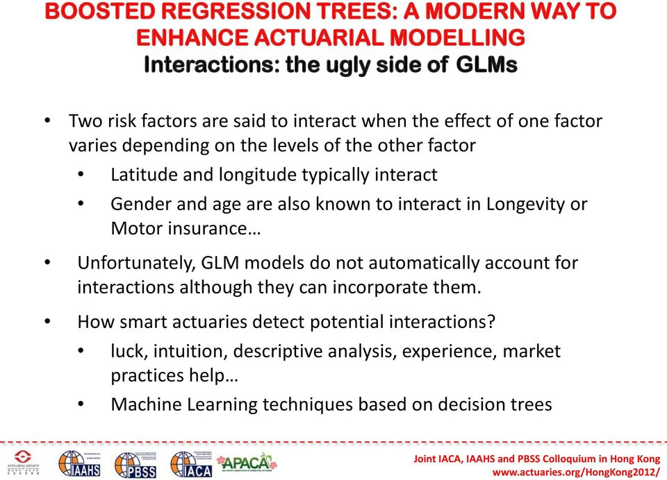 Unfortunately, GLM models do not automatically account for interactions although they can incorporate them.