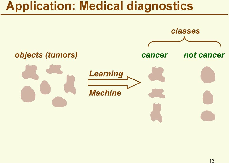 objects (tumors) cancer