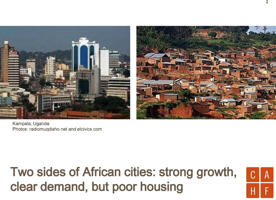 com Two sides of African cities:
