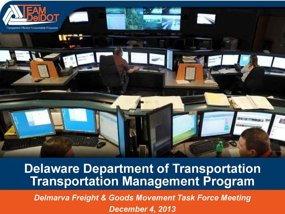 Management Program Delmarva Freight