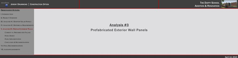 Prefabricated Exterior Wall Panels