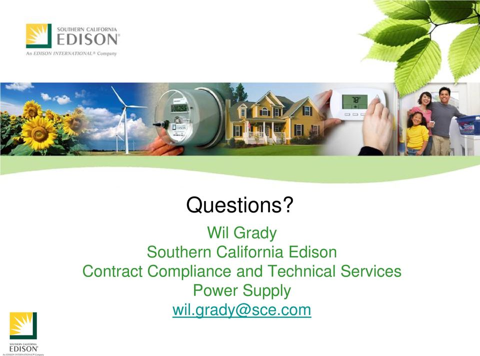 Edison Contract Compliance and