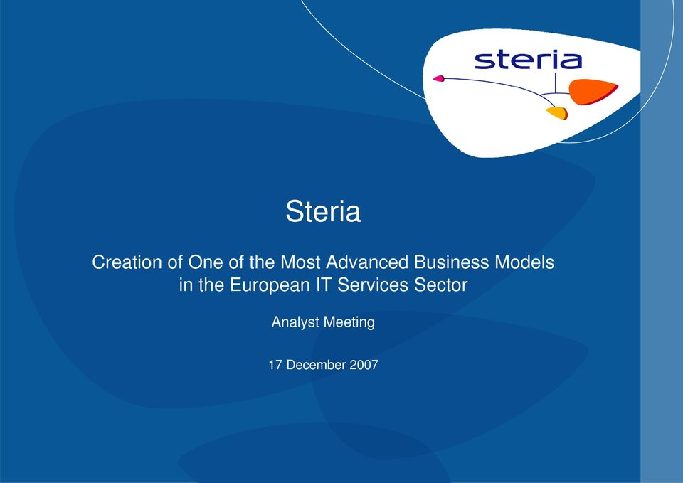 in the European IT Services