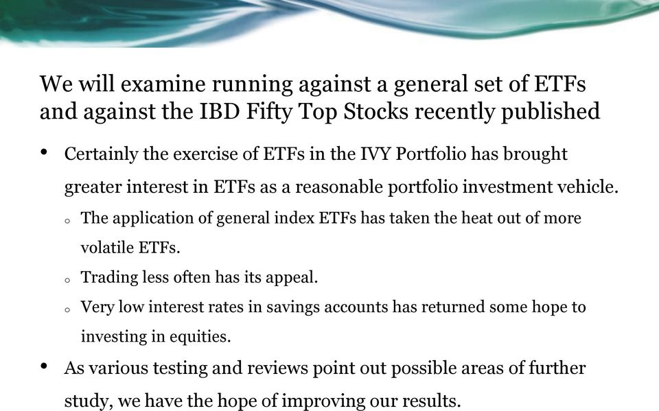 etf trading and investing strategies collection appel marvin lydon tom masonson leslie n