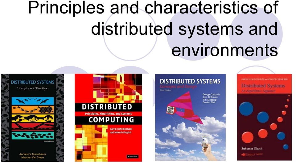 of distributed