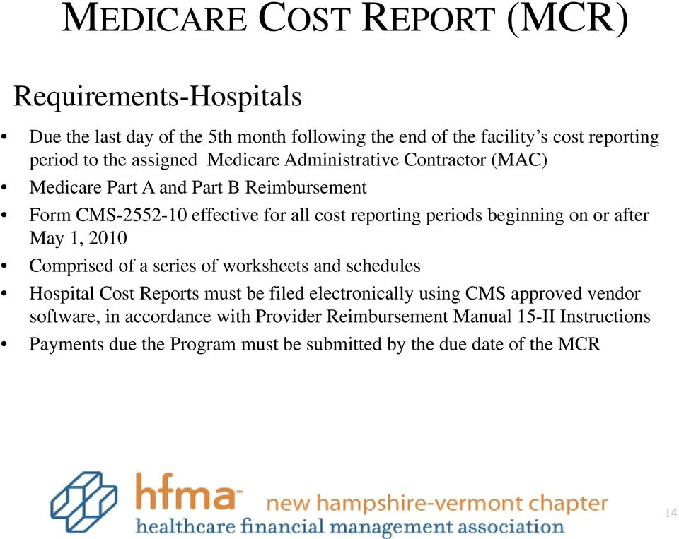 What Is The Medicare Cost Report Pdf