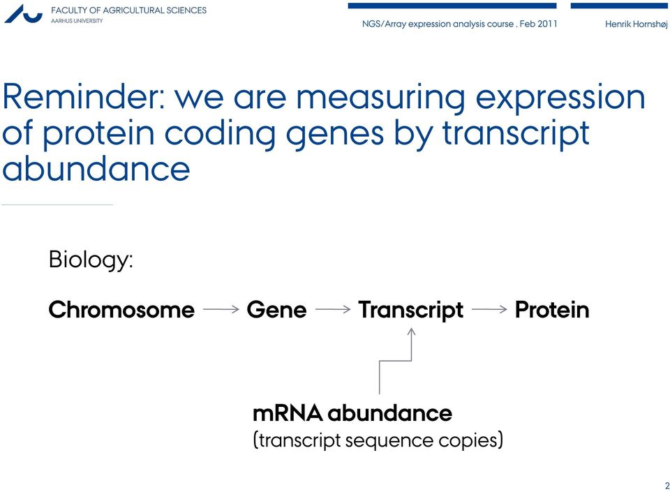 abundance Biology: Chromosome Gene
