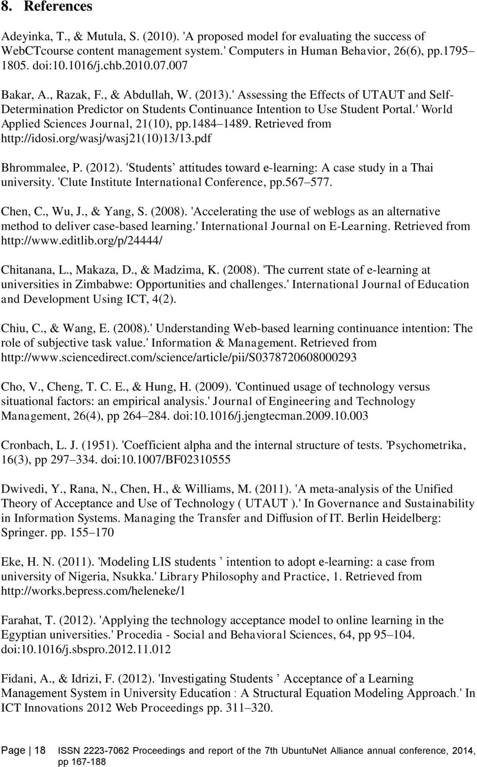 ' World Applied Sciences Journal, 21(10), pp.1484 1489. Retrieved from http://idosi.org/wasj/wasj21(10)13/13.pdf Bhrommalee, P. (2012).