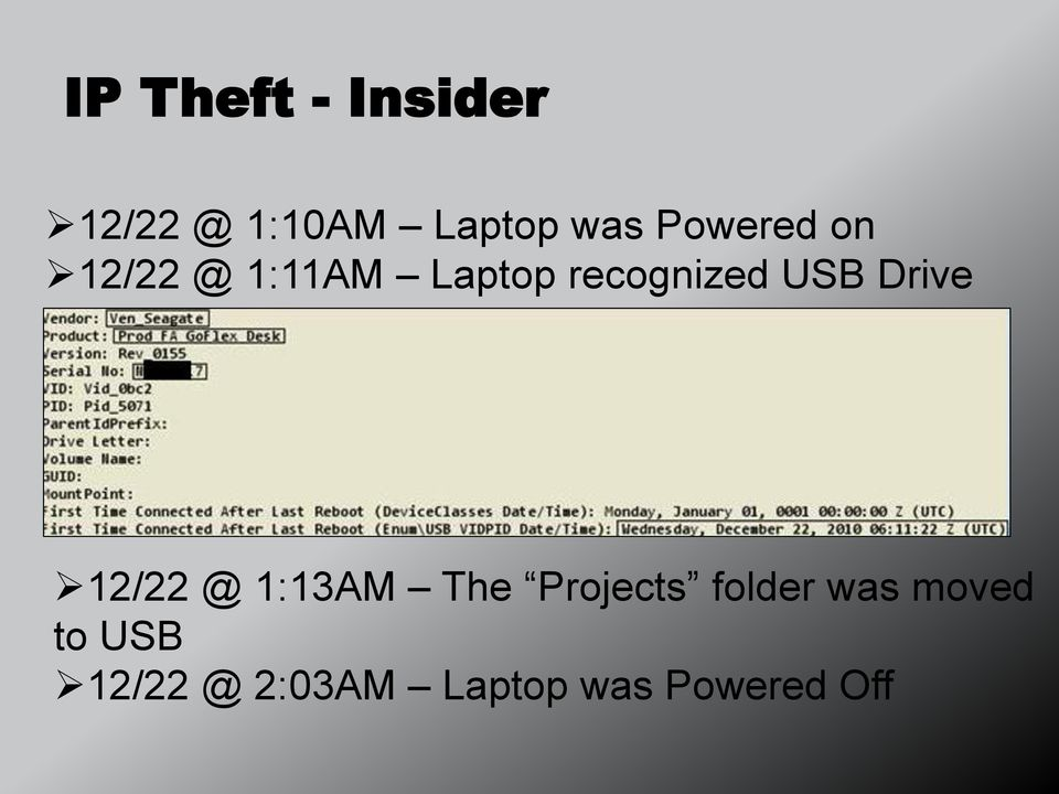 USB Drive 12/22 @ 1:13AM The Projects folder