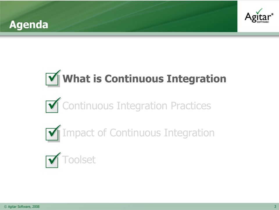 Integration Practices Impact