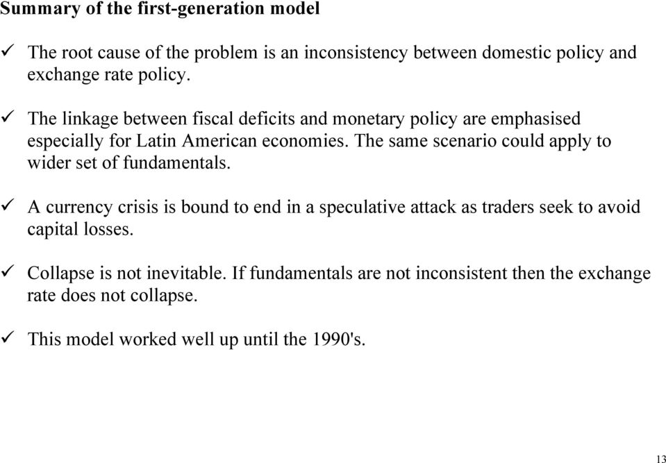 The same scenario could apply o wider se of fundamenals.