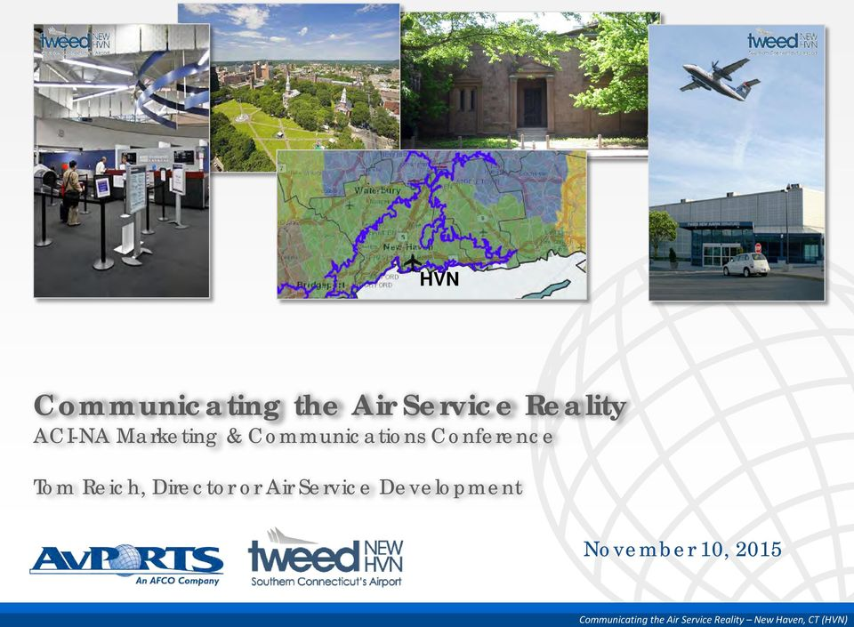 Director or Air Service Development November 10,