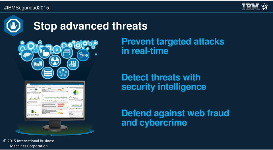 Detect threats with security