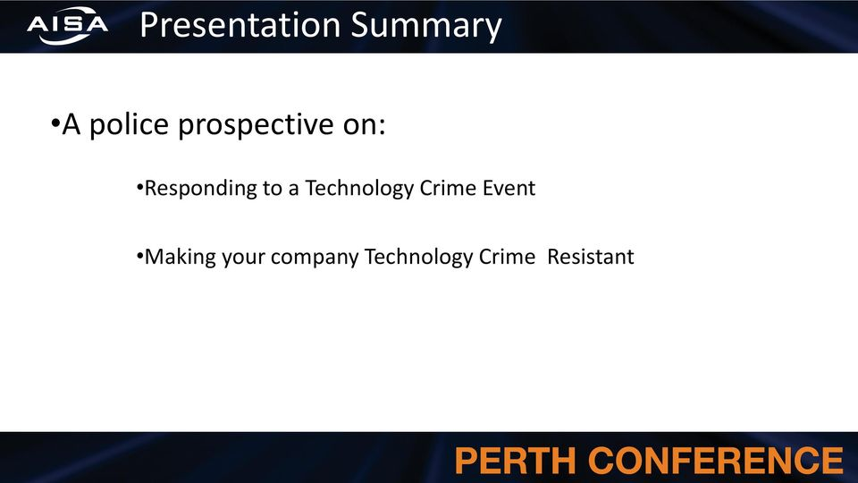 Technology Crime Event Making