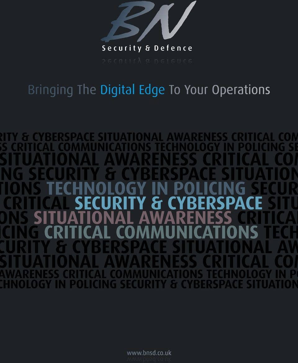 SECUR CRITICAL SECURITY & CYBERSPACE SITU NS SITUATIONAL AWARENESS CRITICAL CING CRITICAL COMMUNICATIONS TECH URITY & CYBERSPACE
