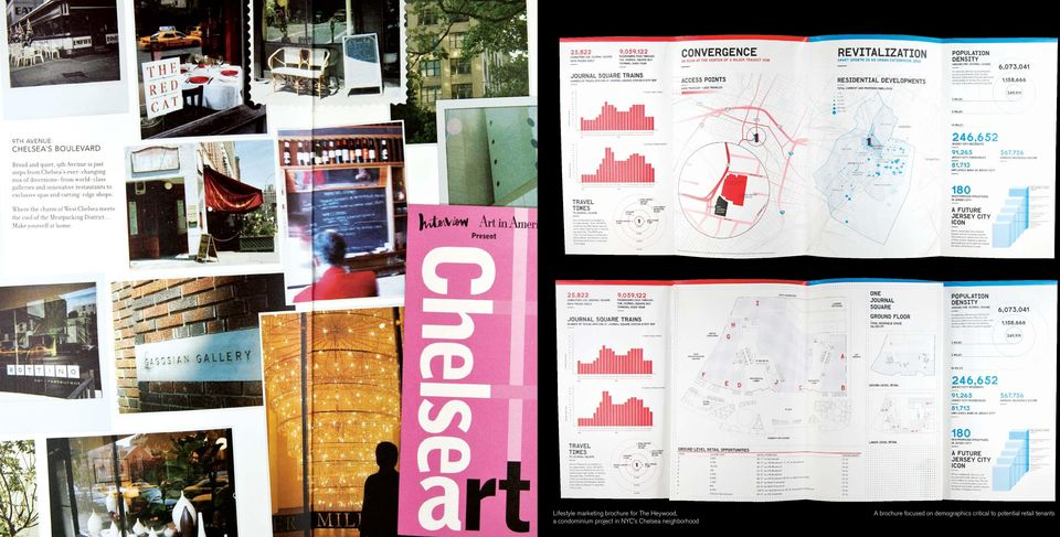 Chelsea neighborhood A brochure focused on