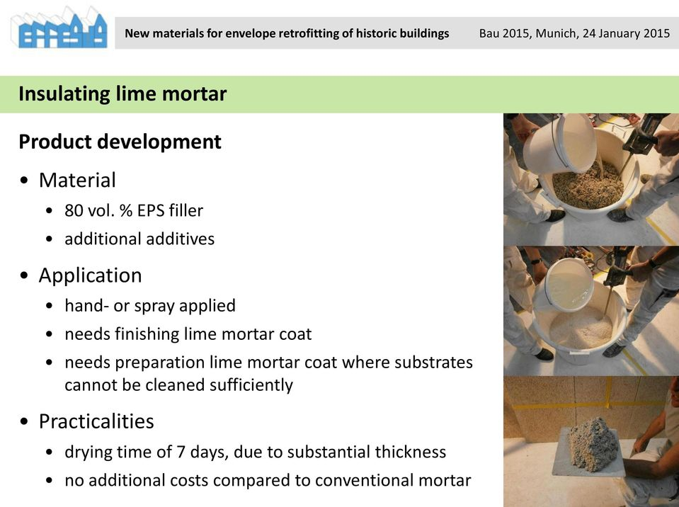 mortar coat needs preparation lime mortar coat where substrates cannot be cleaned