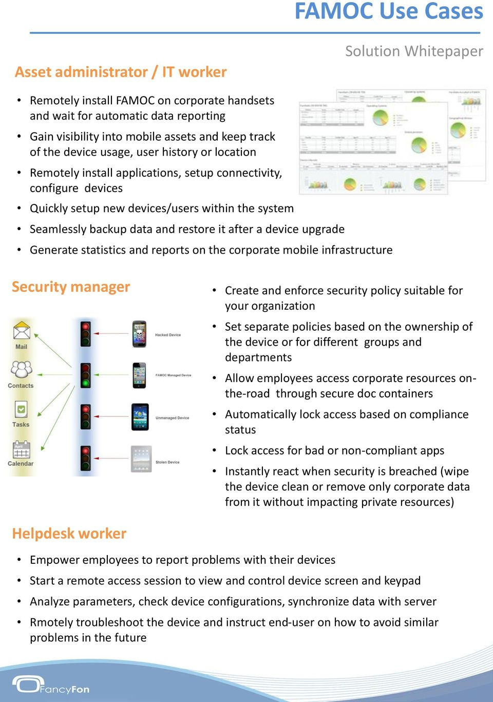 Mobility Management with FAMOC  Solution Whitepaper - PDF