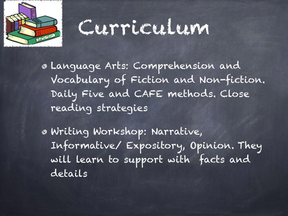 Close reading strategies Writing Workshop: Narrative,