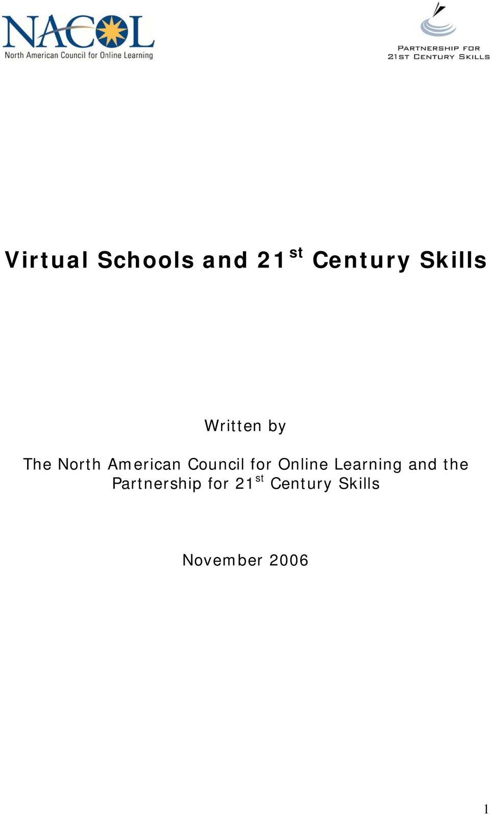 Council for Online Learning and the
