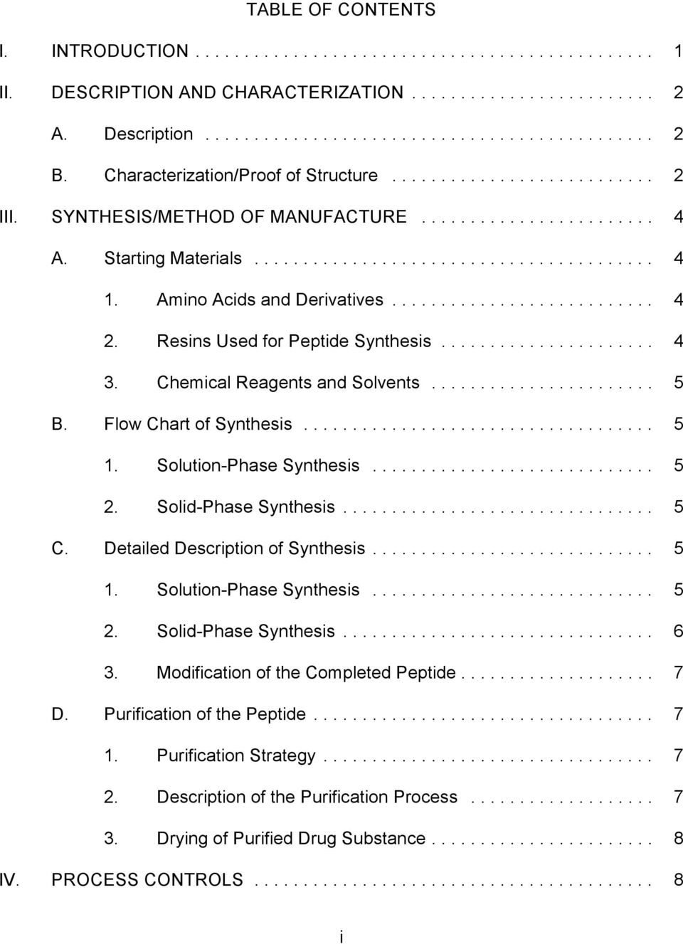 Solution-Phase Synthesis... 5 2. Solid-Phase Synthesis... 5 C. Detailed Description of Synthesis... 5 1. Solution-Phase Synthesis... 5 2. Solid-Phase Synthesis... 6 3.