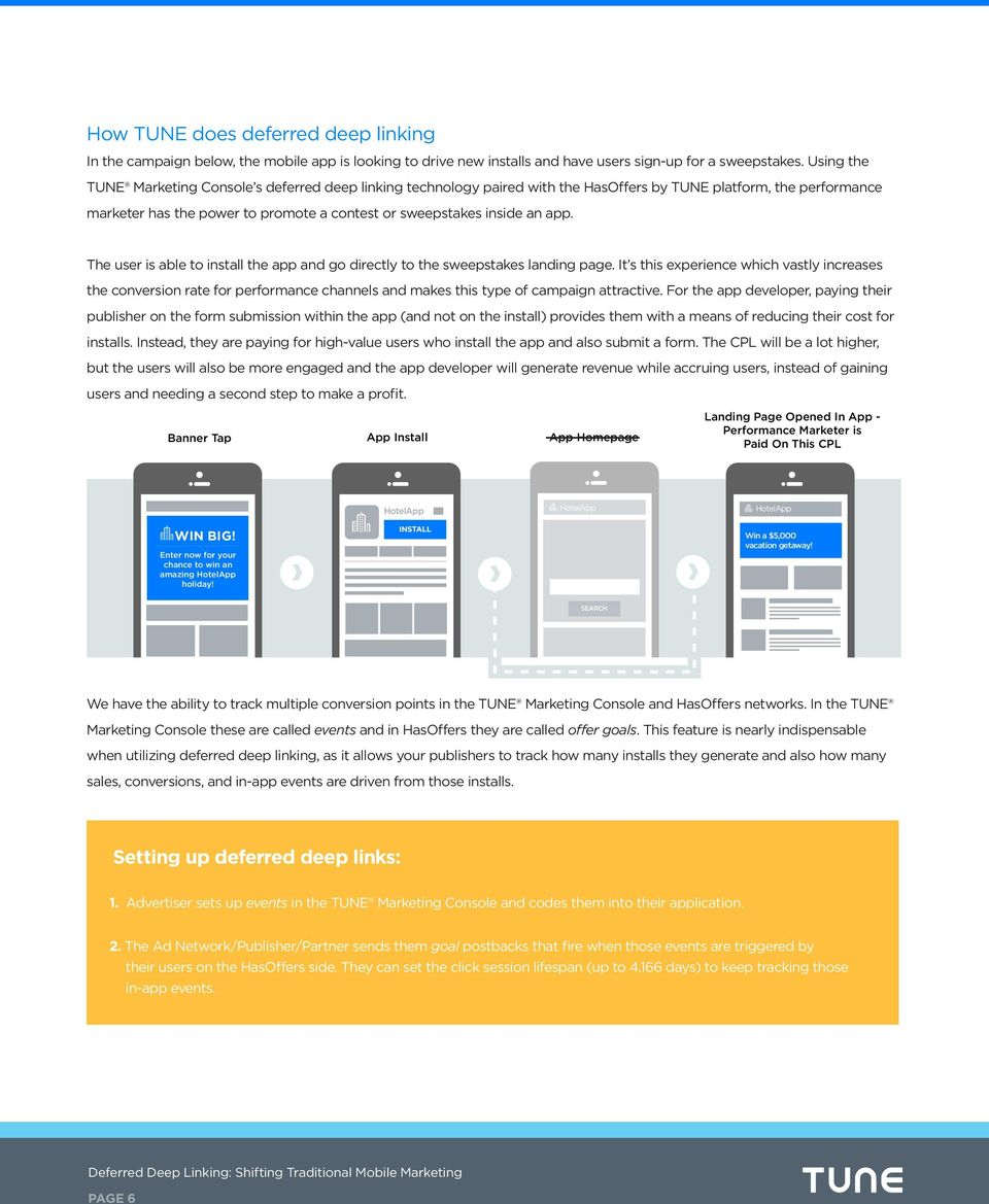 Deferred Deep Linking: Shifting Traditional Mobile Marketing