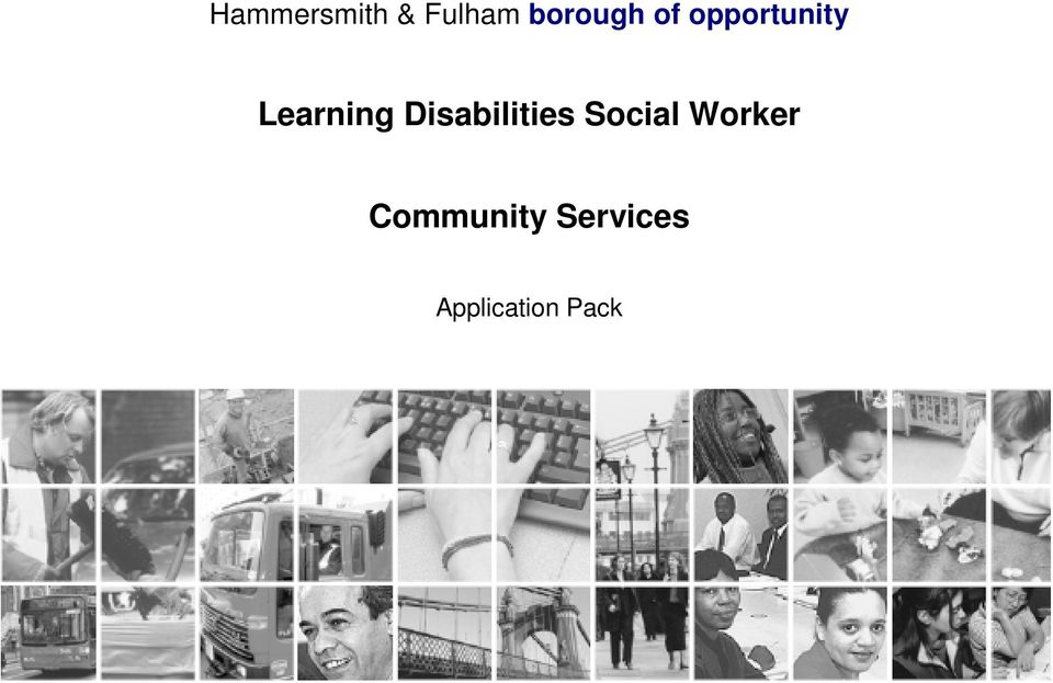 Disabilities Social Worker