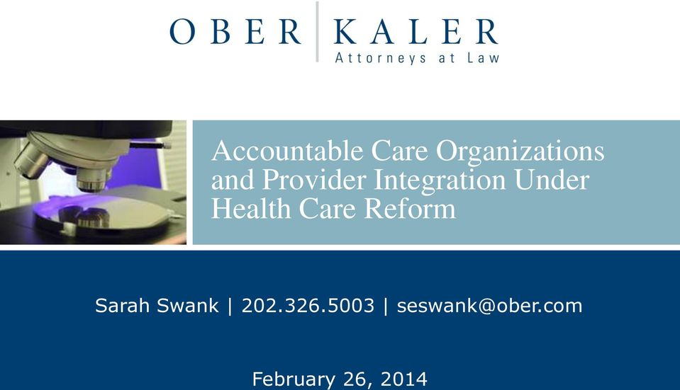 Care Reform Sarah Swank 202.326.