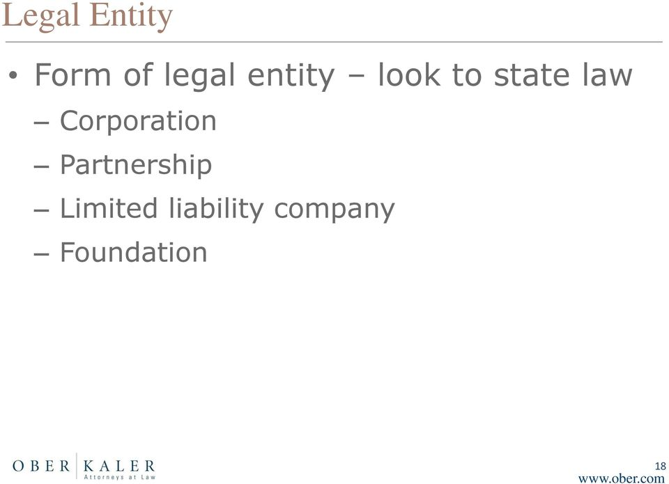 Corporation Partnership