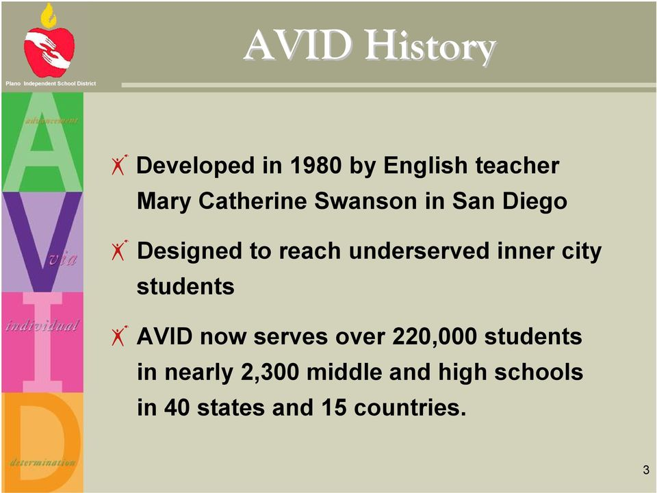 inner city students AVID now serves over 220,000 students in